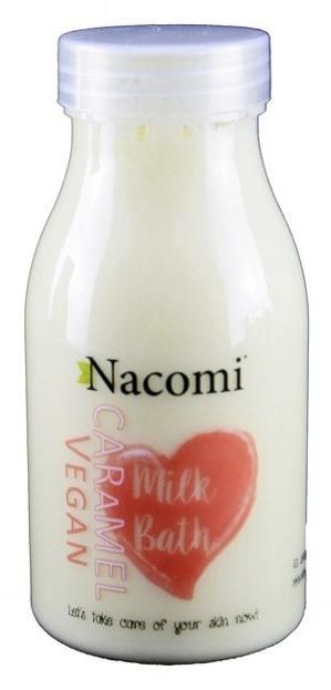 Nacomi Mleko do kąpieli o zapachu karmelu 300ml