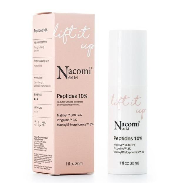 Nacomi Next Level Lift It Up Peptides 10% Liftingujące serum do twarzy z peptydami 10% 30ml