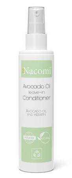 Nacomi Odżywka  do włosów w sprayu z keratyną i olejem avocado bez spłukiwania 200ml