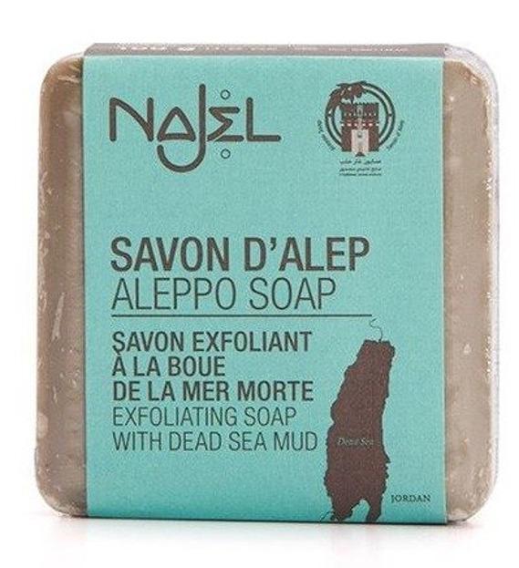 Najel Mydło Aleppo oliwkowo-laurowe z błotem z Morza Martwego 100g