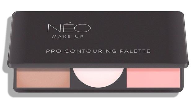 Neo Make Up Pro Contouring Palette Paleta do konturowania 01