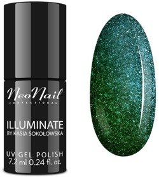 Neonail Lakier hybrydowy  Emerald Falls 7,2ml