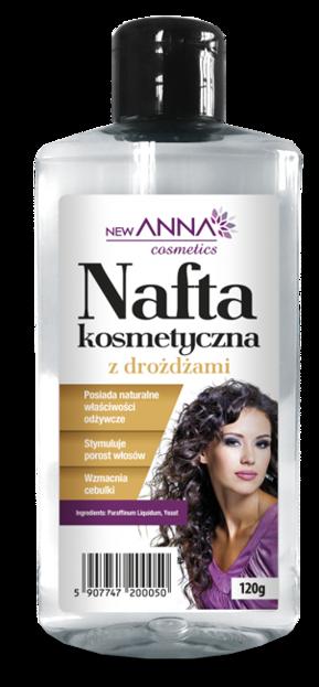 New ANNA Nafta kosmetyczna z drożdżami 120g