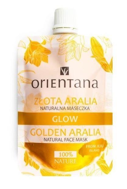 ORIENTANA Naturalna maseczka GLOW Złota Aralia 30ml