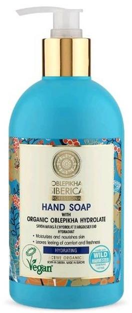 Oblepikha Siberica wegańskie nawadniające mydło do rąk 500ml