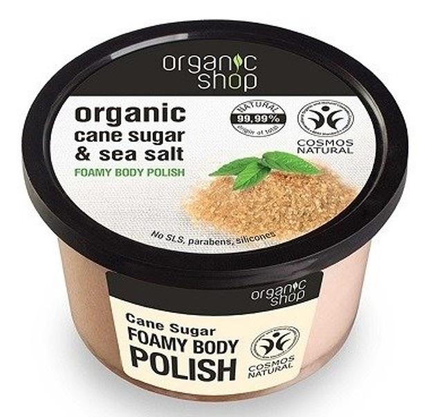 Organic Shop Pasta do ciała Cukier Trzcinowy 250ml