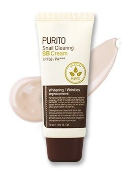 PURITO Snail Clearing BB Cream Krem BB z ekstraktem ze śluzu ślimaka 21 light beige 30ml