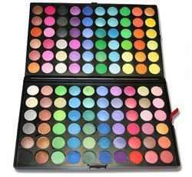 Paleta cieni 120 kolorów