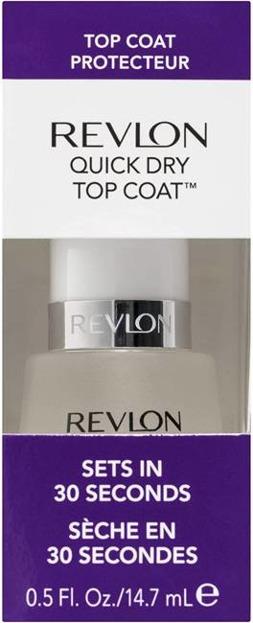 REVLON Top Coat Quick Dry Top przyspieszający wysychanie lakieru 14,7ml