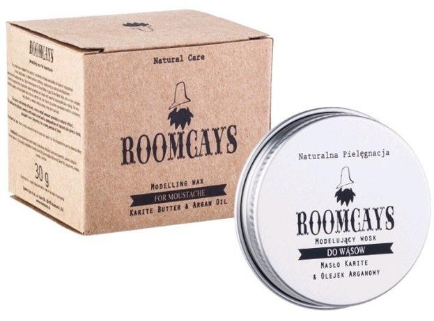 ROOMCAYS Modelujący wosk do wąsów 30g