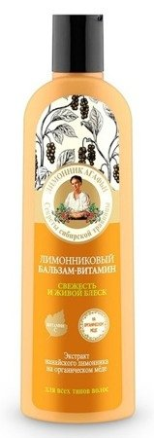 Receptury Babuszki Agafii Balsam witaminowy - Cytryniec chiński RBA2 280ml