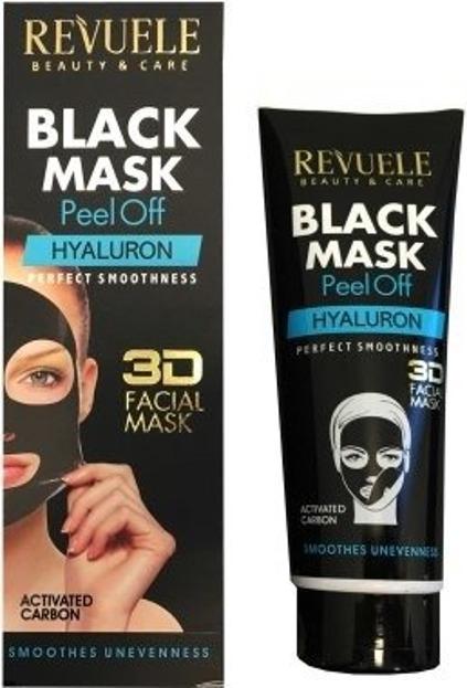 Revuele Black Mask 3D Hyaluron  Maska peel-off do twarzy 80ml
