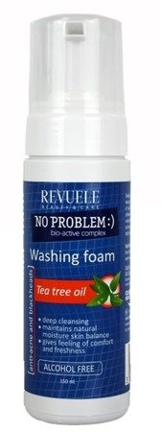Revuele Washing Foam Tea Tree Oil Pianka do mycia drzewo herbaciane 150ml
