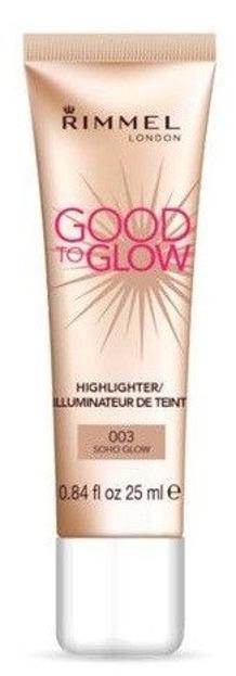 Rimmel Good To Glow Highlighter 003 Soho Glow Rozświetlacz do twarzy 25ml