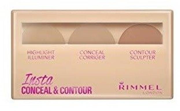 Rimmel Insta Conceal&Contour Paletka do konturowania twarzy 010 Light