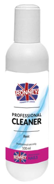Ronney Professional Nail Cleaner Basic Płyn do odtłuszczania paznokci 100ml