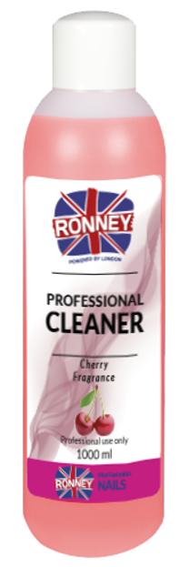 Ronney Professional Nail Cleaner Cherry Płyn do odtłuszczania paznokci 1000ml
