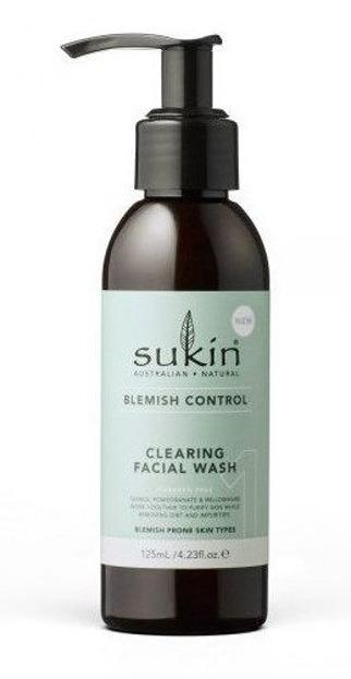 SUKIN Blemish Control Żel do mycia twarzy 125ml