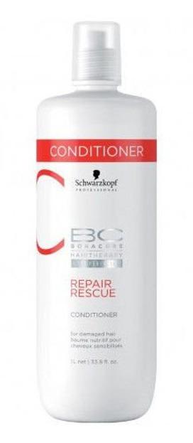 Schwarzkopf Professional Repair Rescue Conditioner - Regenrująca odżywka do włosów, 1L