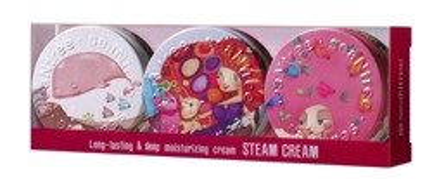 SeaNtree Steam Cream Special 3in1 Set Zestaw 3 kremów do twarzy 3x35g