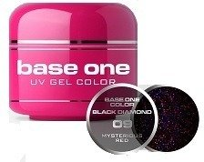 Silcare Base One 09 Mysterious Red Żel kolorowy 5g