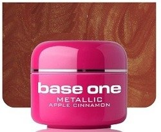 Silcare Base One Metalic 36 Apple Cinnamon Żel kolorowy 5g