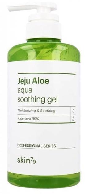 Skin 79 Jeju Aloe Aqua Soothing Gel 99% Żel aloesowy 500g POMPKA