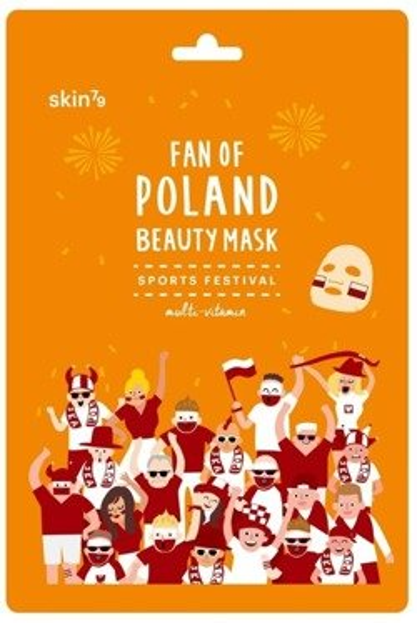 Skin79 Fan Of Poland Beauty Mask Multiwitaminowa maska Kibica Sports Festival