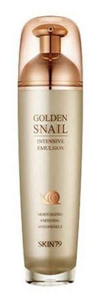 Skin79 Golden Snail Intensive Emulsion - Emulsja do twarzy z ekstraktem ze ślimaka 130ml