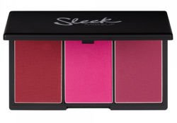 Sleek Blush BY3 Blush Palette - Paletka: 3 róże do policzków, 366 Pink Sprint