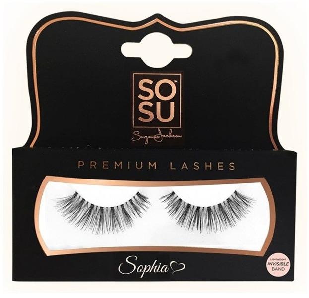 Sosu Sztuczne rzęsy Premium Sophia 100% naturalne