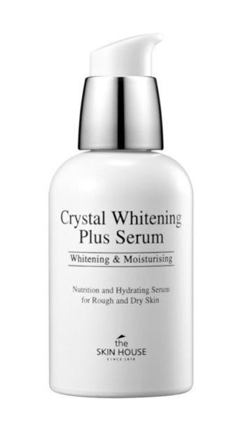THE SKIN HOUSE Crystal Whitening Plus Serum Rozjaśniające serum do twarzy i dekoltu 50ml