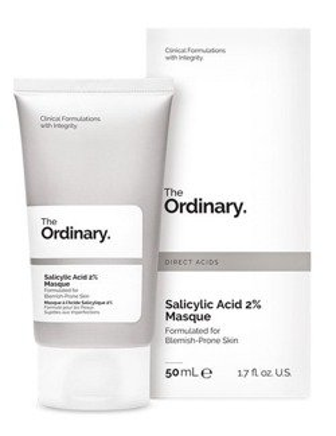 The Ordinary Salicylic Acid 2% Masque Glinkowo-węglowa maska z kwasem salicylowym 50ml