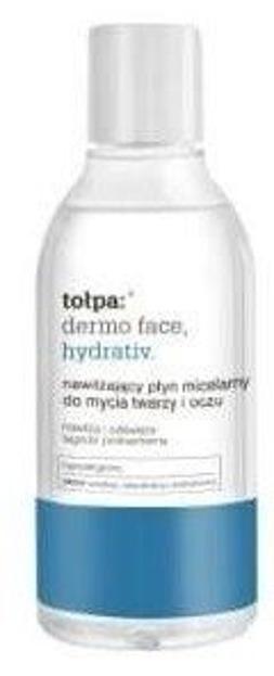 Tołpa Dermo Face Hydrativ Nawilżający płyn micelarny do mycia twarzy i oczu 400 ml XXL