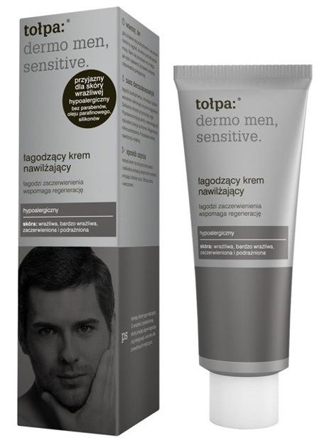 Tołpa Dermo Men Sensitive Łagodzący krem nawilżający 40ml