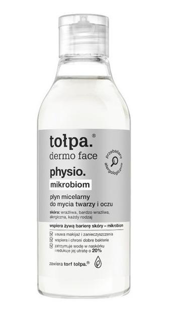 Tołpa Physio Mikrobiom Płyn micelarny do mycia twarzy i oczu 200ml