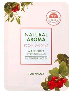 TonyMoly Natural Aroma ROSE WOOD maska w płachcie