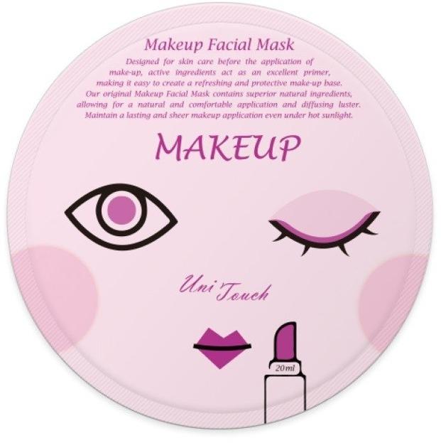 UNITOUCH Miss ô Makeup Facial Mask Bankietowa maseczka w płachcie 20ml