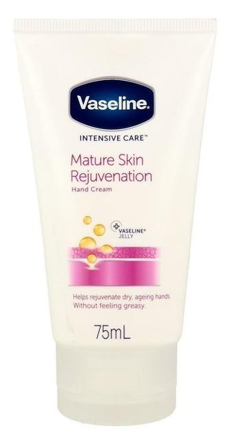 Vaseline Intensive Care Mature Skin Rejuvenation Krem do rąk i paznokci 75ml
