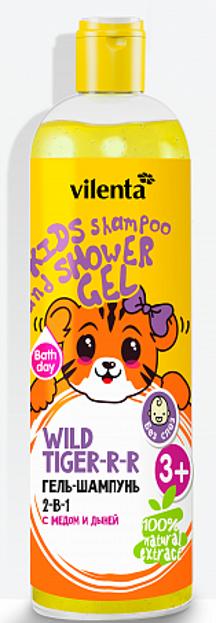 Vilenta Żel-szampon dla dzieci 2w1 Dziki Tygrys 400ml