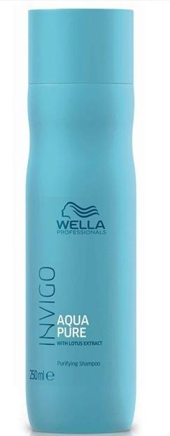 Wella INVIGO Aqua Pure Oczyszczający szampon do włosów 250ml