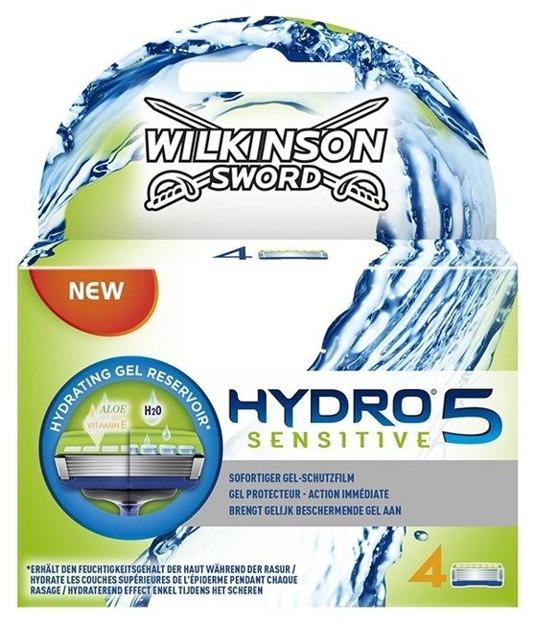 Wilkinson Hydro 5 Sensitive Men Wkłady do maszynki 4szt