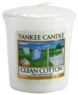 Yankee Candle Sampler Świeca Clean cotton 49g