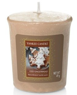 Yankee Candle Sampler Świeca Iced Gingerbread 49g