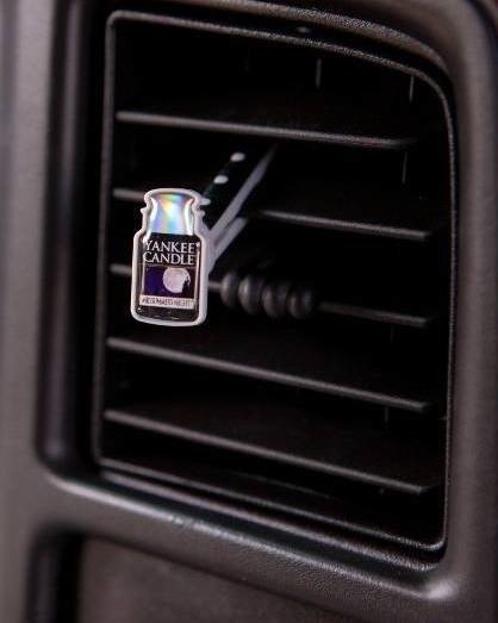 Yankee Candle car Vent stick - Stick samochodowy Midsummers night 1 opakowanie - 4 sztuki