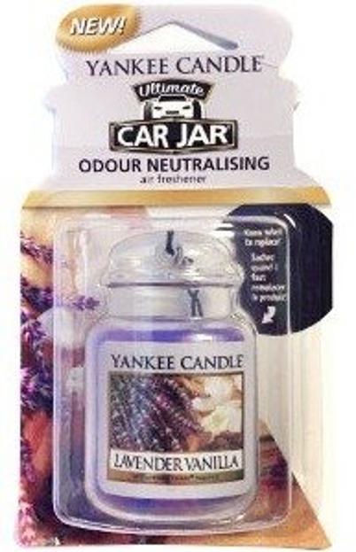 Yankee Candle car jar Ultimate Odświeżacz samochodowy Zawieszka słoik Lavender Vanilla 1szt.