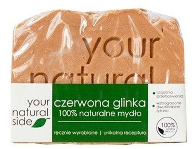 Your Natural Side Mydło Czerwona Glinka 100% 100g