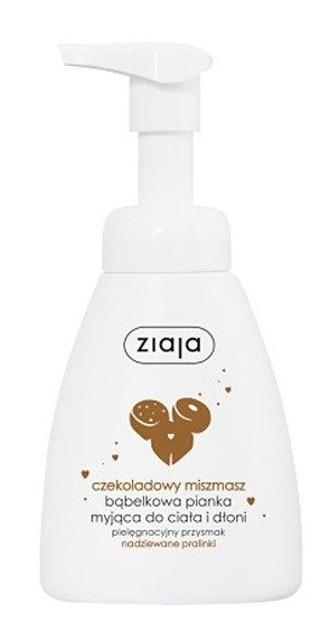 Ziaja Misz-masz Czekoladowy Bąbelkowa pianka myjąca 250ml